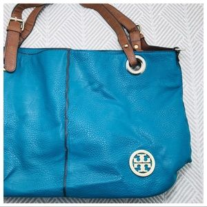 Tory Burch | Teal Leather Bag